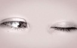 Video Art - In between 2 eyes