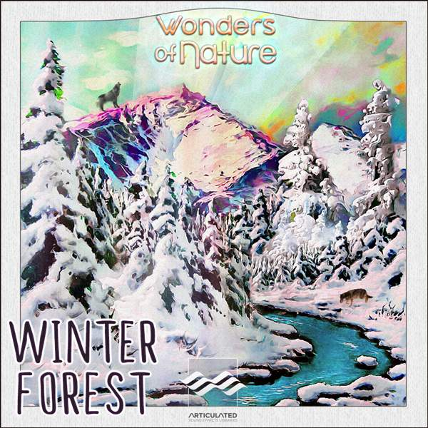 Very Cold Ambience Sound Library Unveiled: Winter Forest!