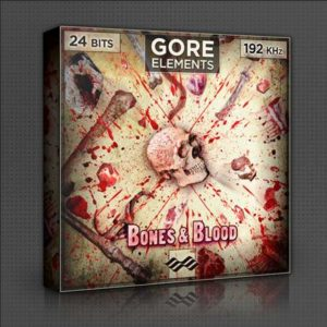 Bones and Blood Sound Effect Library