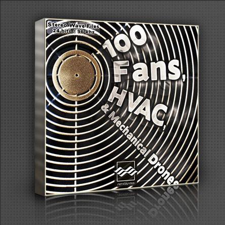 100 Fans, HVAC, & Mechanical Drones
