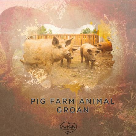 Artbits: Pig Farm Animal Groan