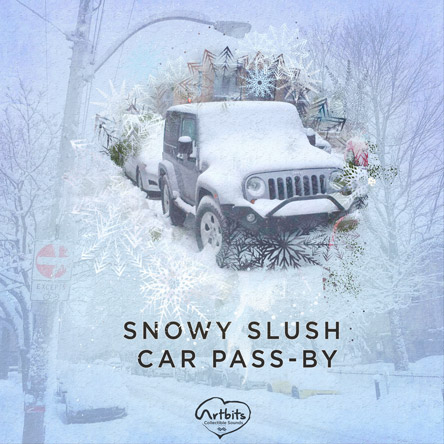 Artbits: Snowy Slush Car Pass-by