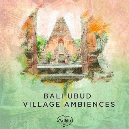 Bali Ubud Village Ambiences