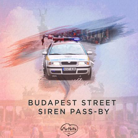 Artbits: Budapest Street Siren Pass-By